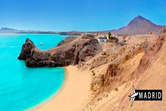 Otoño a Lanzarote: Vuelo desde Madrid + 7 noches en apartamento