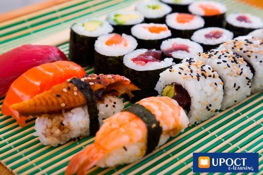 Descubre la cocina japonesa con este curso online de sushi ¡De la mano de los profesionales de UPOCT!