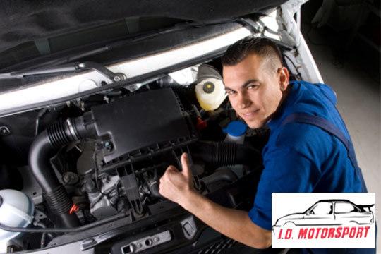 ¡Tu coche a punto en I.D. Motorsport! Revisión pre-ITV con cambio de aceite y hasta 4 filtros