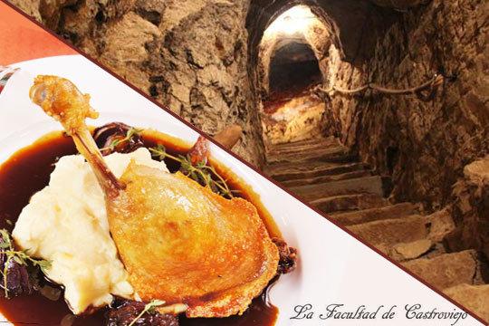 ¡Plan enológico y gastronómico completo! Menú riojano o degustación en la Facultad de Castroviejo + Cata de vinos y visita a las Bodegas Lecea