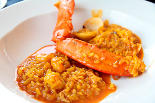 Menú con arroz marinero en el Restaurante El Ideal ¡Exquisito!
