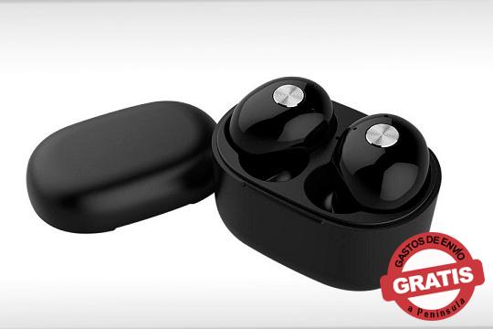 Disfruta de la música que más te gusta con estos auriculares wireless Blacky ¡Movimiento sin restricciones en un rango de 10 metros!