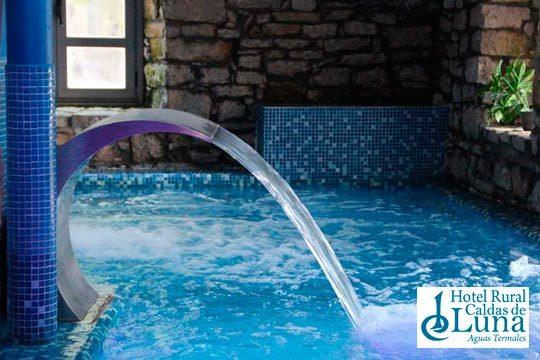 Escápate a León con 1 o 2 noches con desayunos + circuito Spa en el Balneario Caldas de Luna
