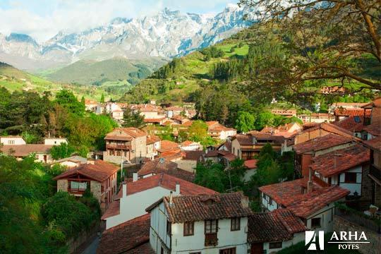 Noche con desayuno + Circuito Spa de 45 min en el hotel Arha Potes ¡Relax en plena naturaleza en Cantabria!