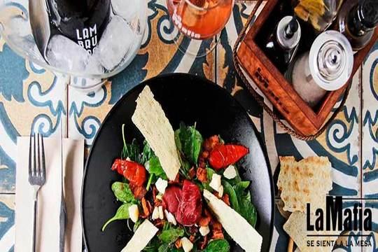 Nuevo menú en La Mafia ¡El sabor de Italia en formato de lujo!