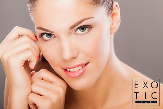 Con el tratamiento facial de Exotic Touch conseguirás lucir un cutis joven y cuidado ¡Incluye radiofrecuencia, microdermoabrasión y limpieza!