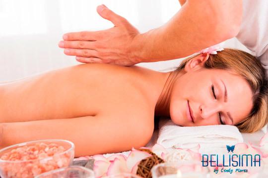 Siente tu cuerpo como nuevo con 1 o 3 sesiones de masaje relajante o descontracturante en el centro Bellísima