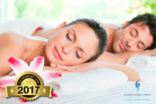 Elige el masaje unisex de espalda que prefieras en el centro Confort Cuerpo y Mente ¡Quiromasaje o relajante!