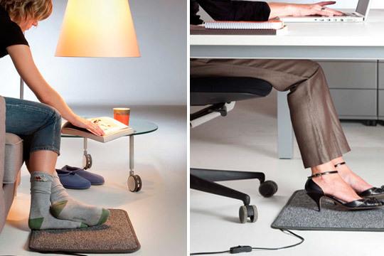 Esta alfombra calefactable podrás tenerla en casa o llevarla a la oficina ¡Adónde tú quieras para tener los pies calientes!