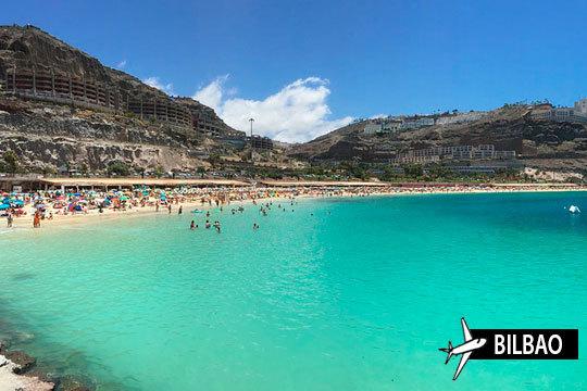En el mes de agosto disfruta de unas vacaciones en Gran Canaria ¡Incluye vuelo desde Bilbao + 7 noches en Todo Incluido!