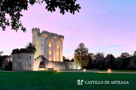 Menú degustación en el Castillo de Arteaga ¡8 platos de lujo!