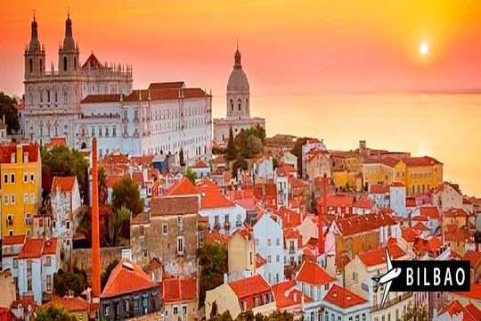 Visita  Lisboa: Vuelo desde Bilbao + 3 noches con desayunos