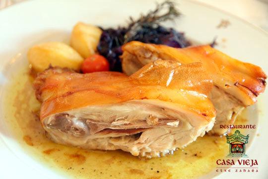 Menú degustación en el Restaurante Casa Vieja- Etxe Zaharra