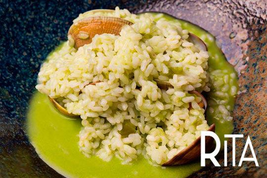 Exclusivo menú de autor para una persona en el Restaurante Rita by Ismael Iglesias