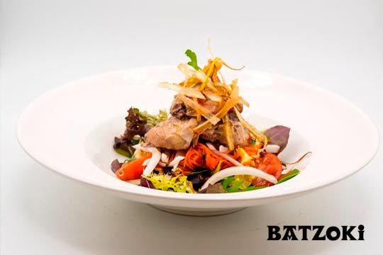 Menú 5 platos en el Batzoki de Laguardia ¡Con carne y pescado!