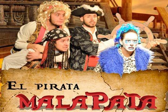 El próximo 14 de octubre no te pierdas el espectáculo infantil 'El Pirata Malapata' ¡Un musical en el teatro Beñat Etxepare!