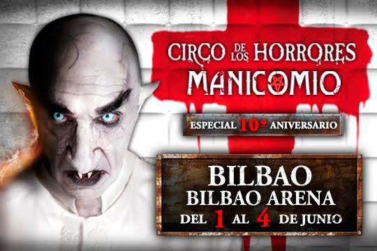 Déjate atrapar por el terror, humor y artes circenses del Circo de los Horrores en su show 'Manicomio' ¡Te encantará!