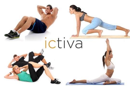 Prepara tu cuerpo este año con 12 meses de gimnasio online Ictiva ¡El primer gimnasio 2.0 para toda la familia!