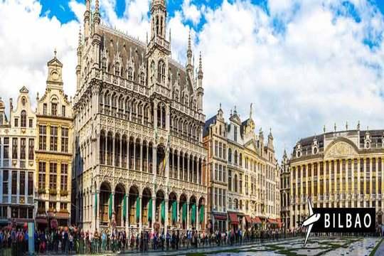 Febrero y marzo a Bruselas: Vuelo desde Bilbao + 3 noches con desayuno