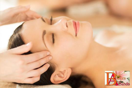 Un masaje en cara, cuero cabelludo y cuello, en un entorno que refuerza la experiencia sensorial con música oriental relajante o velas aromáticas y una sensacional mesoterapia