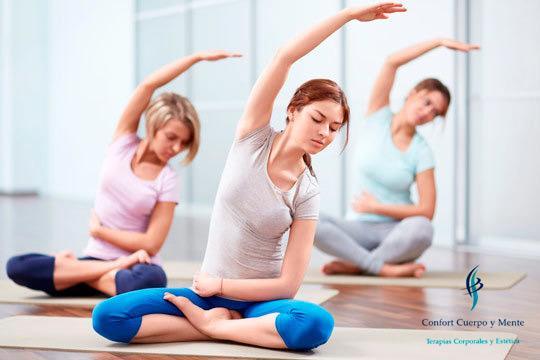 Elige entre 2, 4 o 12 sesiones de Yoga o PEM (Pilates, estiramiento y mantenimiento) ¡Único centro en Vitoria que imparte esta disciplina!