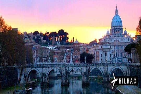 ¡En mayo o junio descubre la captial Italiana! Vuelo desde Bilbao a Roma + 3 o 4 noches con desayuno