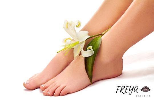 ¡Con el buen tiempo luce pies cuidados! Pedicura a elegir + esmaltado normal o permanente en Freya Estetika