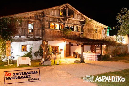 Menú 30 aniversario en Aspaldiko ¡Gastronomía de Alta calidad!
