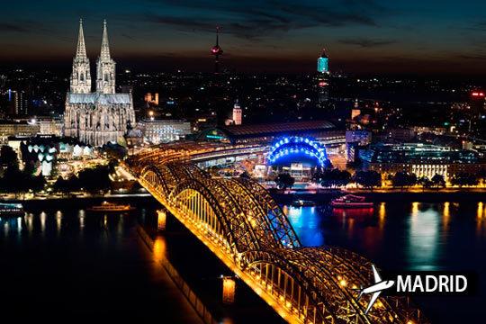 Viaje a Colonia desde Madrird + estancia de 3 o 4 noches con desayunos ¡Viaja a comienzos de año!