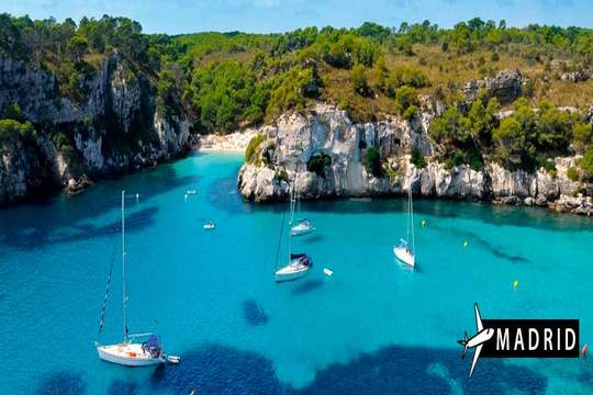 Menorca desde Madrid
