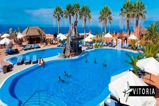 Agosto en Tenerife con vuelo de Vitoria + 7 noches 4* con mp/pc