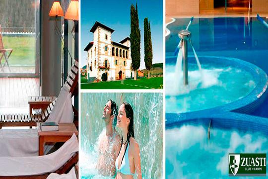 Circuito de Hidroterapia de 3h. + masaje relajante en el Club de Campo Zuasti ¡Acude en pareja y disfruta de la relajación absoluta!