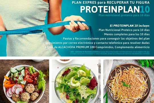 Prueba este plan nutricional basado en proteínas durante 10 días y nota los resultados en muy poco tiempo ¡Rápido y eficaz!