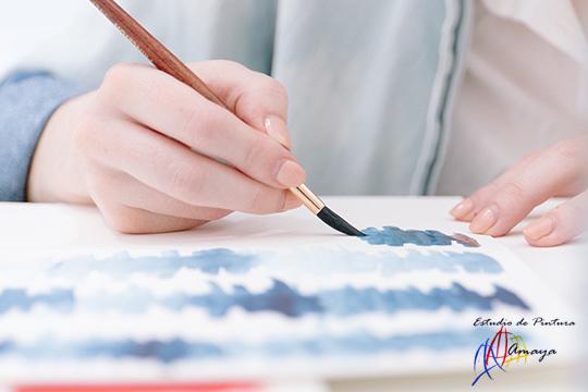 Da rienda suelta al artista que llevas dentro con 3 clases de pintura en el Estudio Amaya ¡Incluye el material necesario para las clases!