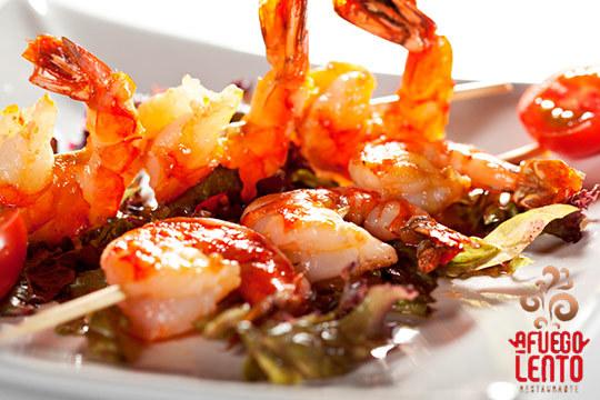 Degusta la cocina fusión vasco-asturiana en Loredo ¡Menú de 6 platos!