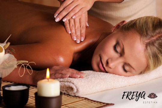 Relax de cuerpo y mente en el centro Freya Estetika con un masaje de 30 o 50 minutos con ritual de velas
