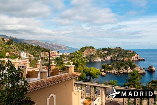 ¡Tu escapada de otoño a Sicilia! Estancia de 3 noches en hotel con desayuno y salida desde Madrid