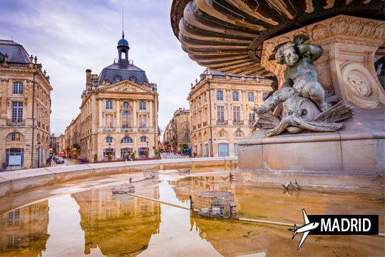 Descubre Burdeos, ¡el otro París! Estancia de 3 o 4 noches en AD con vuelos incluidos desde Madrid
