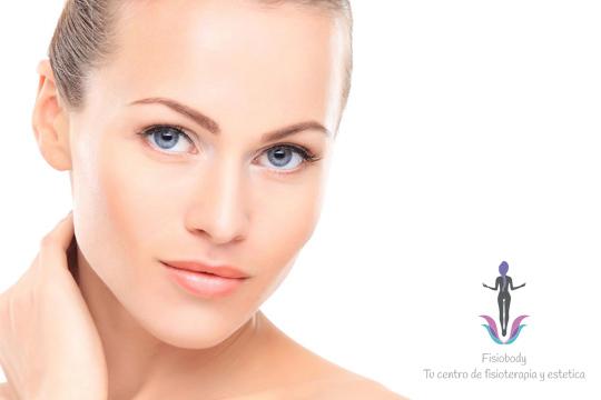 Rejuvenece tu rostro en el centro Fisiobody con el tratamiento Diamond que incluye limpieza facial y radiofrecuencia