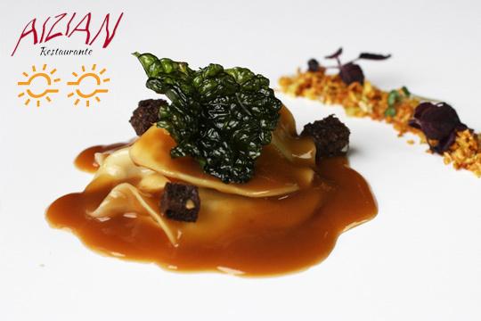 Menú degustación en Aizian ¡Espectacular cocina de autor!