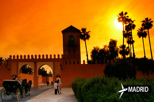 Descubre Marrakech con un viaje de 3 o 5 noches en los hoteles Riad y con vuelo directo desde Madrid