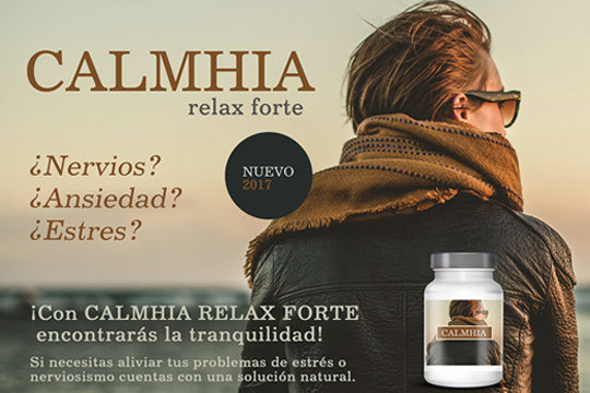 Si necesitas aliviar tus problemas de estrés o nerviosismo cuenta con una solución natural ¡Encuentra la tranquilidad que te falta con Calhmia Relax Forte!