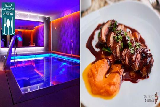 Menú degustación de 7 platos en el Gran Hotel Durango 4* ¡Añade circuito Spa y completa tu escapada de relax!