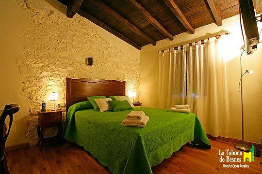 1 o 2 noches con desayunos en la acogedora casa rural La Tahona de Besnes ¡Con botella de sidra y tapa!