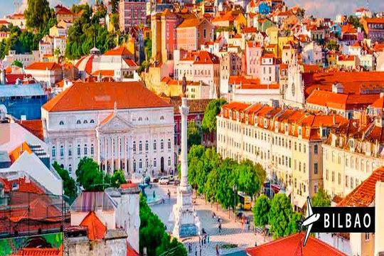 Lisboa con vuelo de Bilbao + 3 noches con desayuno ¡En mayo!