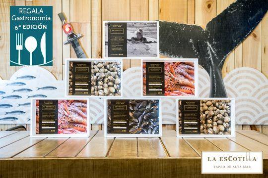 Degusta una original mariscada para dos personas en La EsCotilla con surtido de fritos, marisco variado y postre casero ¡Ideal para regalar o para degustar en la mejor compañía!