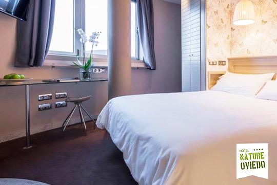 Plan de lujo para dos personas en el Hotel Nature Oviedo**** ¡1 o 2 noches con desayuno!