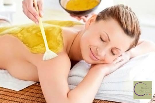 Luce una piel joven y cuidada con un tratamiento facial o corporal con oro de 24 kilates