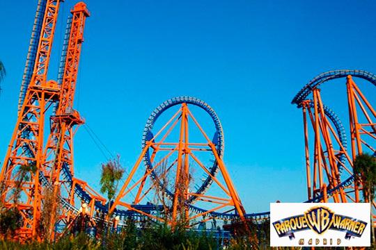 Diversión y risas a tope en el Parque Warner de Madrid ¡No te pierdas este ofertón de 1 o 2 días de entrada!