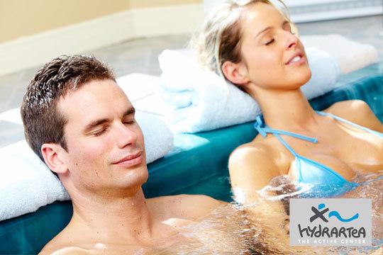 Auténtica relajación y bienestar con un Circuito Spa ilimitado con opción de masaje manual en ducha Vichy en Hydra Artea ¡Para 2 personas!